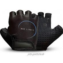 NoLimit® Fitness Handschuhe Fahrrad Handschuhe Sporthandschuhe für Damen u. Herren Schwarz Pink