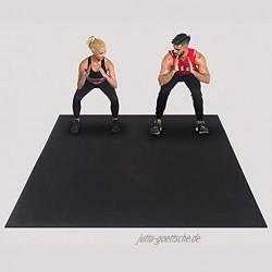 Homeland Exercise Yoga Big Mat rutschfest für Aerobic Fitness Camping Gym , Multifunktionale Trainingsgeräte Mattenboden- und Teppichschutz