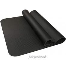 Übungs-Fitnessgeräte-Matte für Heimtrainer Fitnessstudio Home Hartholzboden Teppichmatte Schutz Bodenmatte