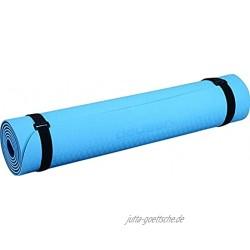 Deuser Unisex– Erwachsene Yoga Matte TPE