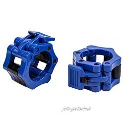 WIFUN Hantelklemmen olympische Größe 50 mm Schnellverschluss für Gewichtheben oder Powerlifting 2 Stück