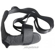 ALEOHALTER Yoga-Rehabilitations-Stretch-Gurt Fußstrecker und Beindehner verbessert die Flexibilität Yoga-Bänder-Stretch-Gürtel für Knöchelfüße