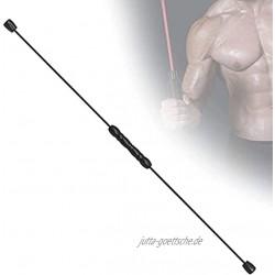Sport Schwingstab Fitness Swingstick Multifunktions-Vibrierende Fitnessstange abnehmbare Pilates-Yogastange mit Hochfrequenz-Vibration formende Trainingsstange die im Büro zu Hause verwendet wird